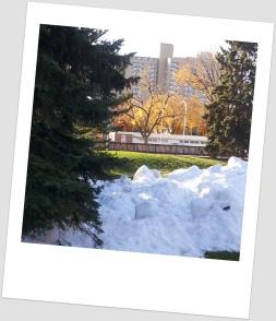 snow in oliver