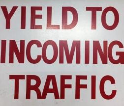 incoming traffic