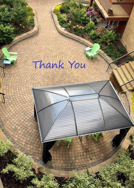 courtyard thank you