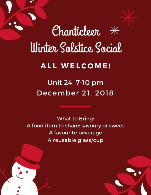 2018 Winter Solstice Social